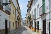 Soliga gatan av spanska staden granada — Stockfoto