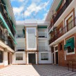 Modern patio of the Spanish apartment building — Stock Photo #25113259