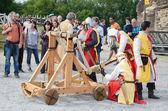 Festival of historical reenactment — Stock Photo