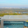 Heliport in the city Kyiv - Stock Photo