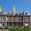 Stock Photo: Town hall of Lourdes