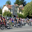 The 99th cycle race Tour de France in Pau — Stock Photo