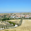 Granada's spring view with town Cullar — Stock Photo