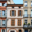 Stock Photo: Small Toulouse Houses