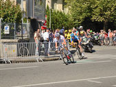 "The 99th cycle race ""Tour de France"" in Pau — Stock Photo"
