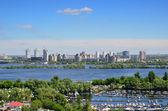 Summer view of Kiev — Stock Photo