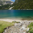 Mountainous artificial lake d'Oredon in the French Pyrenees — Stock Photo