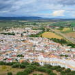 Fertile valley of the Spanish river Guadalquivir — Stock Photo