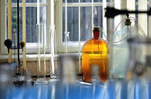 Chemical laboratory — Stock Photo