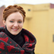 Stock Photo: Ukrainian woman smiling