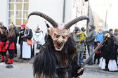 Street procession at the German carnival Fastnacht — Stock Photo