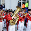 Stock Photo: Parade of orchestras at Germcarnival Fastnacht
