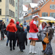 Stock Photo: Street scurry of the German carnival Fasching