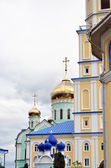 Ukrainian Orthodox monastery — Stock Photo