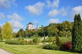 Ukrayna sermaye peyzaj park feofaniya — Stok fotoğraf
