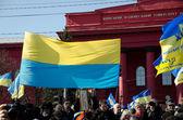 Celebration of Taras Shevchenko's birthday in Kyiv — Stock Photo