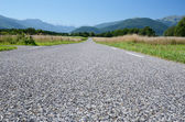Close-up of the road surfacing — Stock Photo