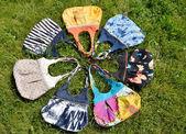 Handmade bags — Stock Photo