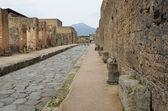 Restored city Pompeii — Stock Photo