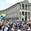Постер, плакат: Maidan in the Ukrainian capital