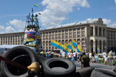 Maidan in the Ukrainian capital — Stock Photo