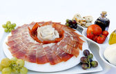 Platon de jamon serrano — Photo