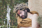 Representation of the passion of christ — Stock Photo