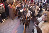 Medieval Wedding Party Isabel de Segura — Stock Photo