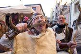 Medieval Wedding Party Isabel de Segura — Stock Photo