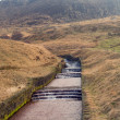 Stock Photo: Water overflow at Dovestone