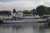 The Swan at Windermere — Stock Photo