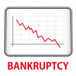 Stock Vector: Bankrupcy
