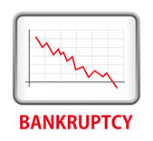 Bankrupcy — Stock Vector