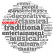 Culture and entertainment — Stock Photo