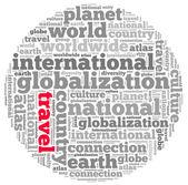 International info-text graphics — Stock Photo