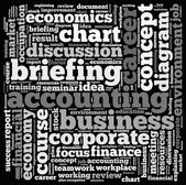 Business info-text graphics — Stock Photo