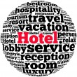 Hotel info-text graphics — Stock Photo #31659601
