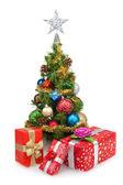 Christmas tree&gift boxes-6 — Stockfoto