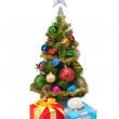 Christmas tree&gift boxes-13 — Stockfoto