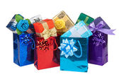 Gift boxes&bags-5 — Стоковое фото