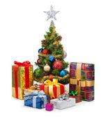 Christmas tree&gift boxes-15 — Stock Photo