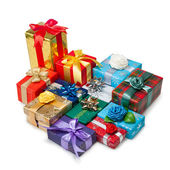 Gift boxes-86 — Stock Photo