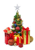 Christmas tree&gift boxes-24 — ストック写真