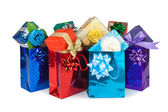 Gift boxes&bags-8 — Stock Photo