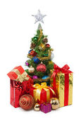 Christmas tree&gift boxes-30 — Stock Photo