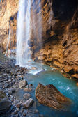Caucasian waterfalls-5 — Stockfoto