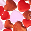 Hearts background-1 — Stock Photo
