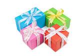 Hediye kutuları — Stok fotoğraf