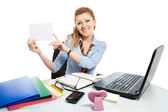 Office clerk-6 — Stock Photo