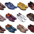 Male footwear collection-3 — Stock Photo